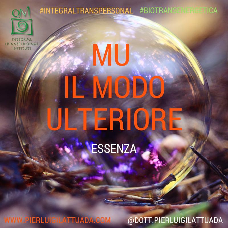 Modo Ulteriore (MU): Essenza